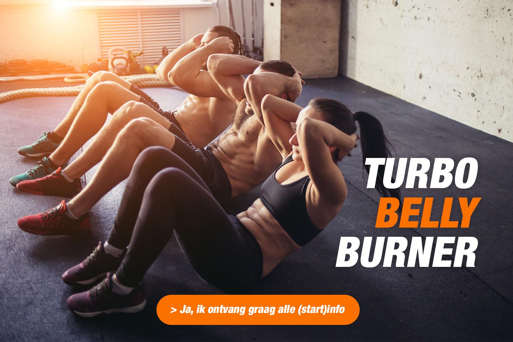Nieuw voor Vrouwen: Turbo Belly Burner